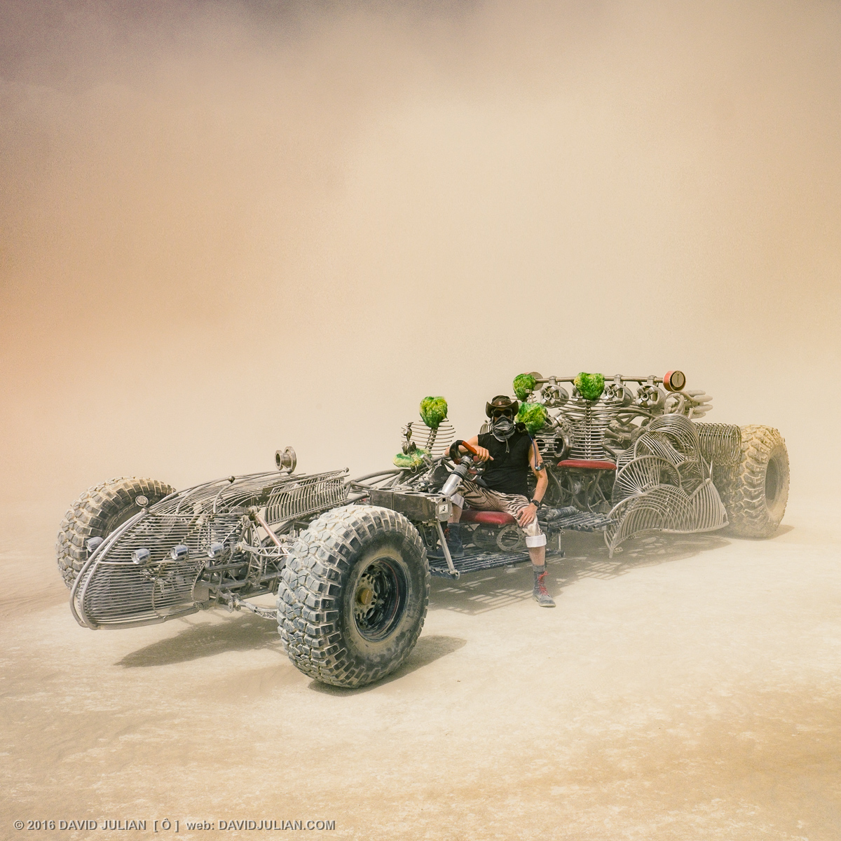 Henry Chang's Dragster, Burning Man
