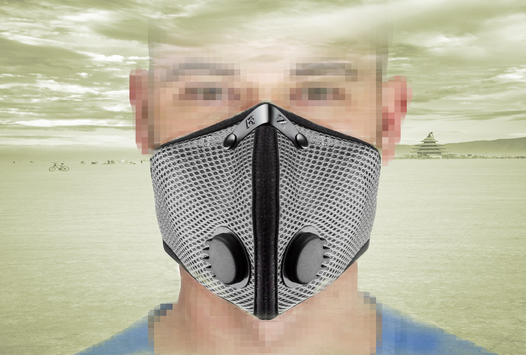 RZ mask model M2 in Platinum.
