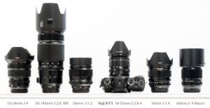 Fuji X-T1 system